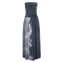 LASCANA Maxikleid mit Batikdruck