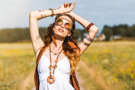Festival Outfit Hippie Mädchen