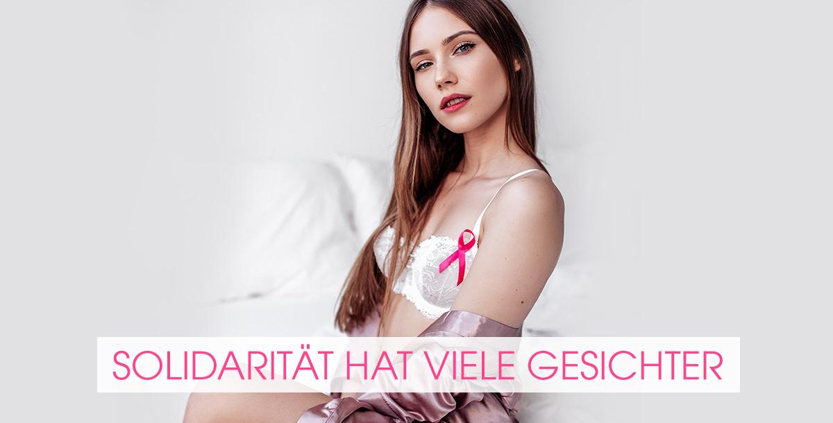 lascana pink ribbon - Solidarität hat viele Gesichter
